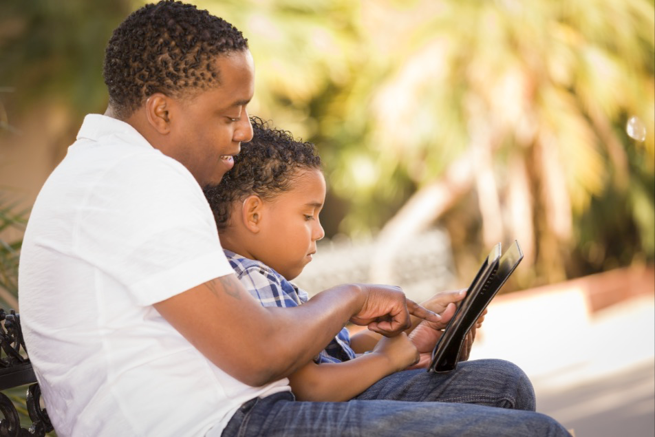 Parents can teach their children important skills that will help keep them safe when using social media.